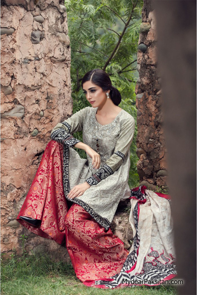 Maria B lawn collection 2016